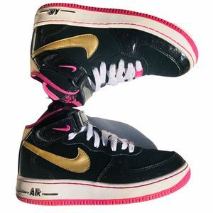 Nike AF1 Air Force 1 Women 6.5 Shoe Pink Airforce